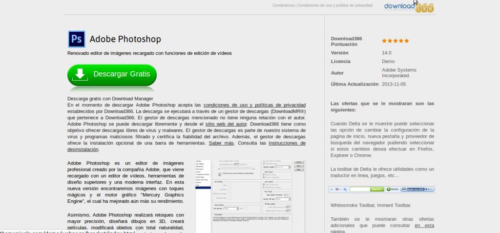 Adobe Ps Descargar